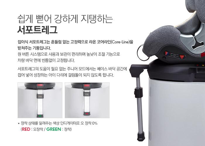 [순성카시트]라온카시트_서포트레그